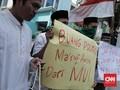 Tanpa Izin, Demo Tuntut Mundur Ma'ruf Amin Cuma 30 Menit