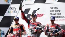 Jorge Lorenzo Rebut Pole Position MotoGP Aragon