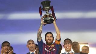 Lionel Messi Resmi Jadi Raja Barcelona