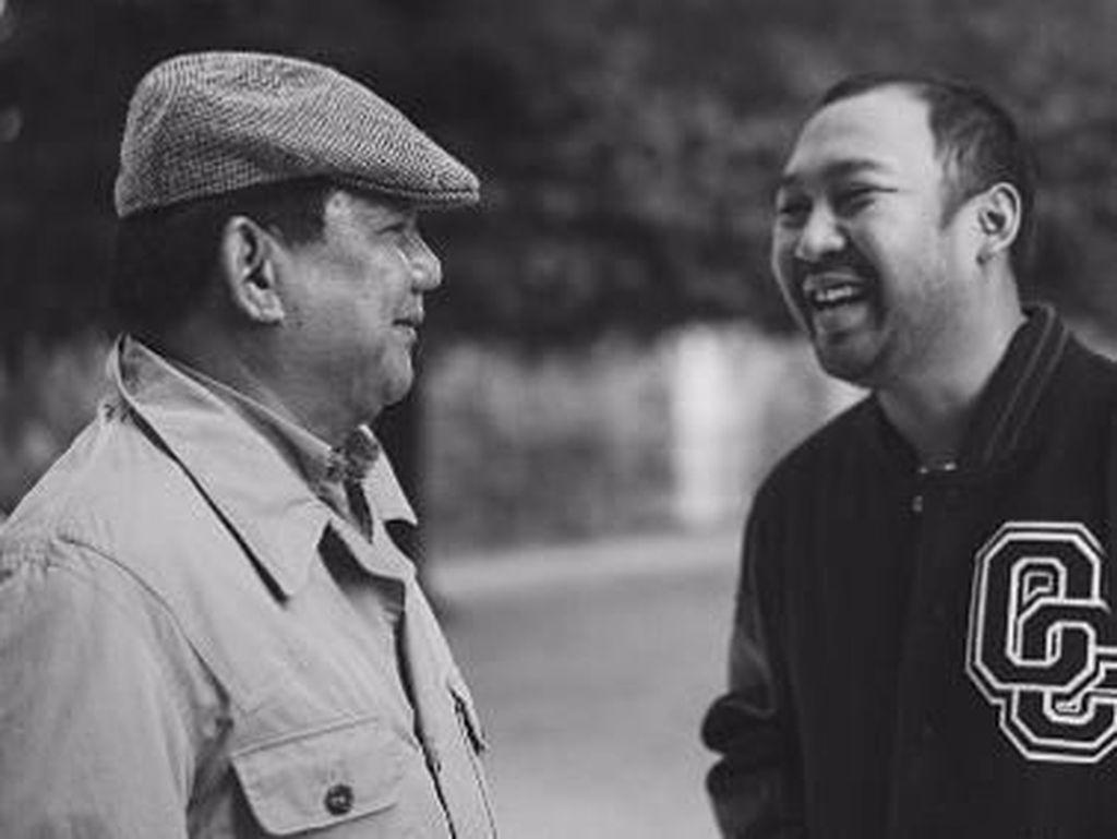 Jarang Terekspos, Ini Potret Kedekatan Prabowo dan Anaknya yang Desainer