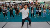 Menurut catatan sejarah, demam Korea melanda Amerika sejak meledaknya Gangnam Style yang dinyanyikan dan dipopulerkan oleh musisi Psy pada 2012 lalu. (REUTERS/Mike Blake)