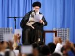 Corona Ganas di Iran, Ayatollah 'Hilang' di Tahun Baru Persia