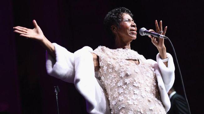 Kritis, Aretha Franklin Masih Bisa Bicara dan Tertawa