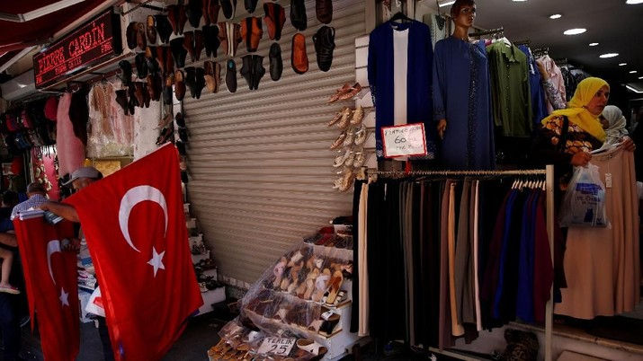 Resesi, Turki Pangkas Lagi Bunga Acuan Jadi 16,5%