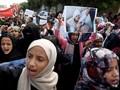 Aksi Protes di Pemakaman Anak-anak Korban Serangan Saudi
