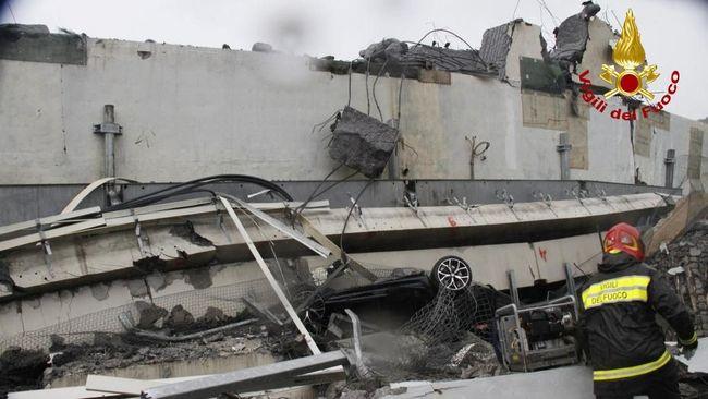 Korban Tewas Jembatan Ambruk di Italia Bertambah