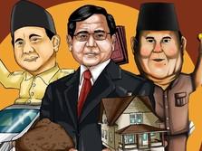 Prabowo, Capres dengan Kekayaan Rp 1,9 T