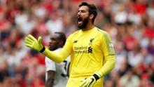 Jelang Liverpool vs Arsenal, Belum Ada Tanda Alisson Pulih