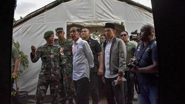 Inpres Terbit, Penanganan Bencana Gempa Lombok Lebih Intens
