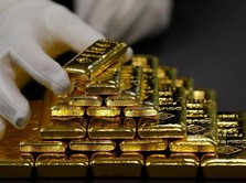 Koreksi Pasar Global, Harga Emas Antam Turun Goceng