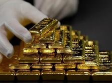 Reli Rupiah Benamkan Harga Emas Antam
