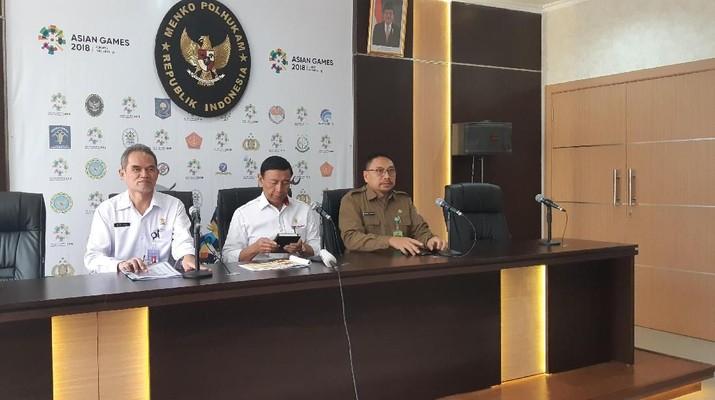 Saat ini tengah terjadi kebakaran di dekat lokasi penyelenggaraan Asian Games 2018 di Palembang.