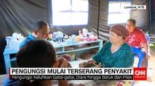 Pengungsi Gempa Lombok Mulai Terserang Penyakit