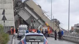 Italia Tetapkan Darurat Negara Usai Insiden Jembatan Ambruk