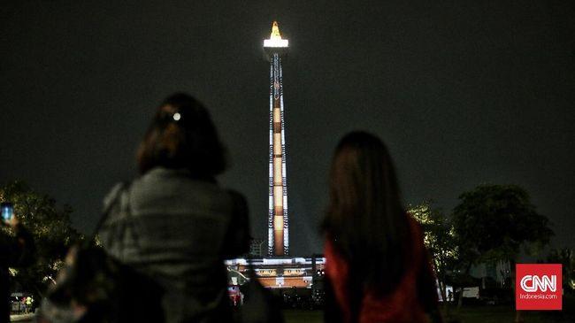 Usai Asian Games, Atraksi Video Mapping Monas akan Dievaluasi