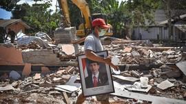 Jokowi Didesak Jadikan Gempa Lombok Bencana Nasional