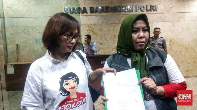 Relawan Emak Jokowi Polisikan Penggagas #2019GantiPresiden