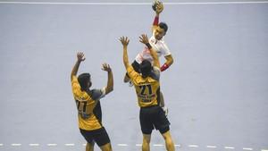 FOTO: Kekalahan Timnas Bola Tangan Indonesia di Laga Pertama