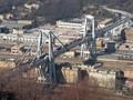 Hujan Badai Menyebabkan Jembatan Genoa Roboh