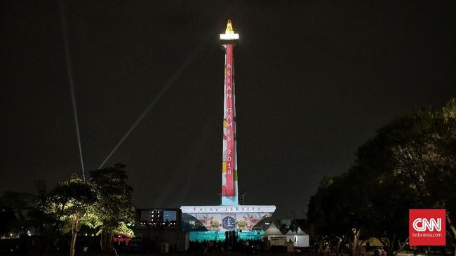 Monas dan Marina Bay Sands Tempat Favorit Pesta Tahun Baru