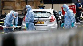 Polisi Inggris Geledah 3 Tempat Usai Insiden Gedung Parlemen