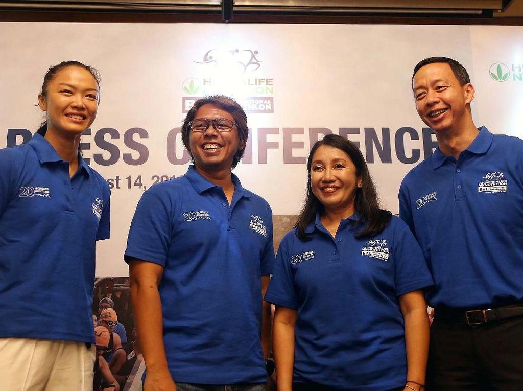 Ribuan Peserta Akan Ikuti Bali International Triathlon 2018