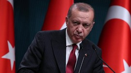 Erdogan Tantang Pihak yang 'Permainkan' Ekonomi Turki