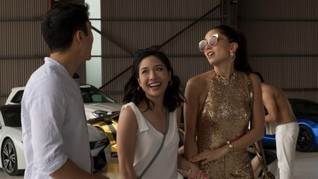 'Crazy Rich Asians' Diramal Disambut Baik Pasar Domestik