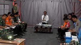 Presiden Pantau Rinjani untuk Pemulihan Gempa Lombok