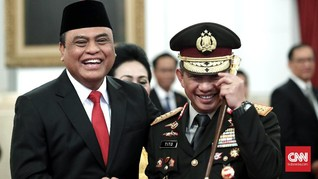Diangkat Jadi MenPAN-RB, Syafruddin Sudah Pensiun dari Polri