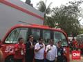 Menperin Airlangga Tes Mobil Otonom Asian Games 2018