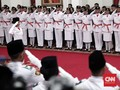 Istana: Paskibraka Putri Tak Berhijab Tetap Pakai Rok