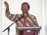 Mahfud MD Menentang Golput Agar Orang Jahat Tak Jadi Presiden
