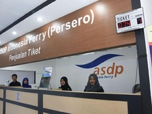 Tiket Pesawat Mahal, Penumpang Ferry Mudik Lebaran Naik 5%