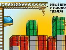 Defisit Neraca Perdagangan Juli 2018  Terparah