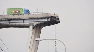 Struktur Jembatan Tol Genoa Diduga Rapuh Sebelum Ambruk