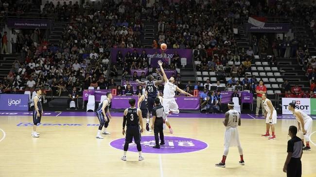 FOTO: Timnas Bola Basket Indonesia Akui Ketangguhan Korsel