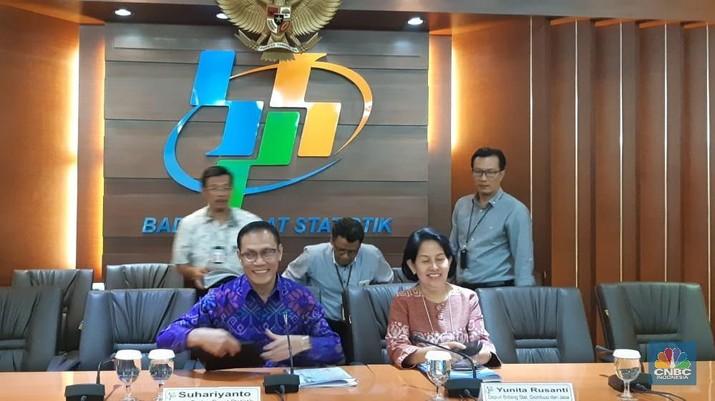 Badan Pusat Statistik (BPS) merilis Indeks Harga Konsumen (IHK) pada Agustus 2018.