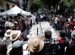 Warga Meksiko Demo Bawa Golok Tolak Pembangunan Bandara Baru