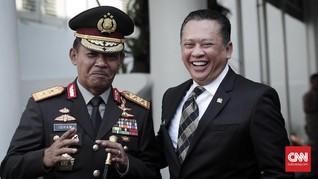 Bamsoet Klaim Kapolri Tito Ajukan Idham Aziz Wakapolri Baru