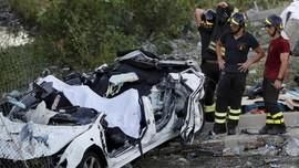 Operasi Pencarian Korban Jembatan Ambruk di Italia Disetop