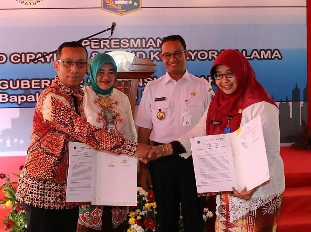 Gubernur Anies Resmikan RSUD Cipayung
