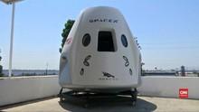 VIDEO: SpaceX Bersiap Kirim Astronaut ke Luar Angkasa