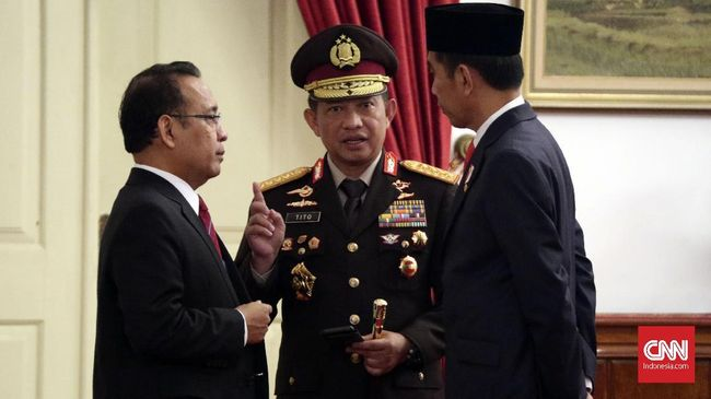 Jokowi Tak Mau Intervensi Dugaan Tito Terlibat Kasus di KPK