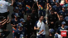 Kirab Obor Asian Games 2018 Tiba di Jakarta