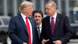 Trump dan Erdogan Sepakat Lanjutkan Koalisi Militer di Suriah