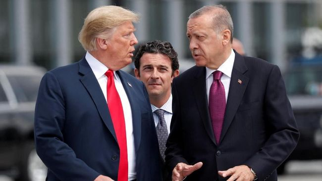 Perkuat Hubungan, Erdogan dan Trump Bahas Kondisi Suriah
