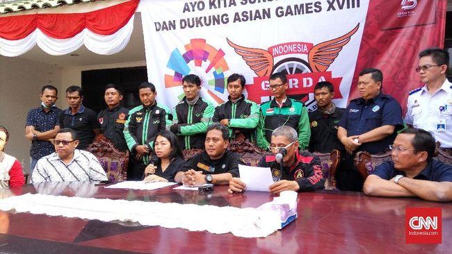 Tunda Demo, Pengemudi Ojol Pilih Mogok Massal di Asian Games