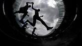Foto dari Kejuaraan Atletik Eropa pada kualifikasi lari nomor 3000 meter yang digelar di Berlin, Jerman. (REUTERS/Kai Pfaffenbach)