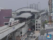 Mencoba LRT Jakarta yang Gagal Melayani Publik di Asian Games